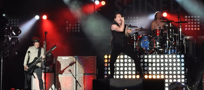 Shinedown at Rock Fest