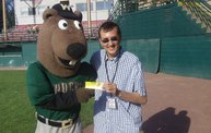 Tony Waitekus gave away Noah's Ark tickets at the Woodchucks game 7 21 12 1
