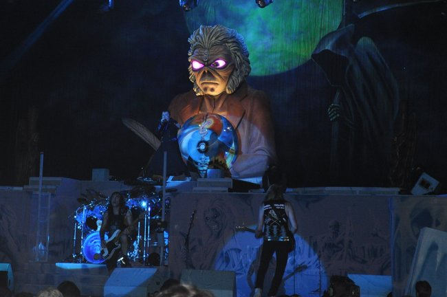 Iron Maiden at Rock Fest