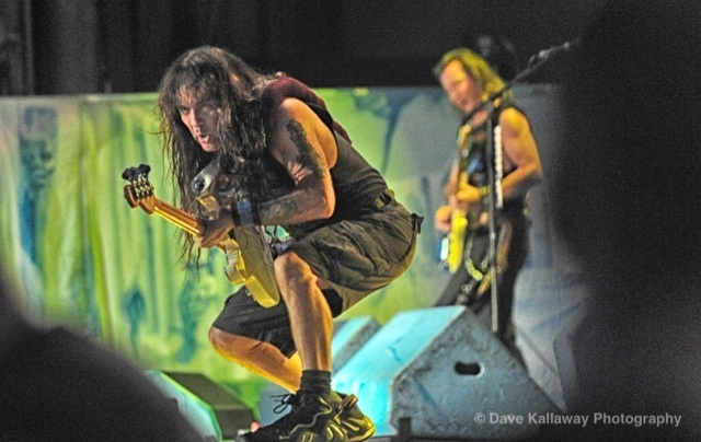 Steve Harris..bass player for Iron Maiden..founded Iron Maiden..still letting 'er rip Saturday for Rockfest 2012 with WIFC!!!