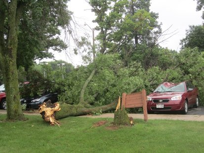 Storms Cause Damage in Wisconsin