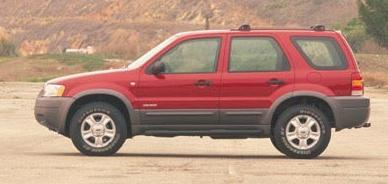 2003 Ford Escape, one of the vehicles on the Recall and repair list.