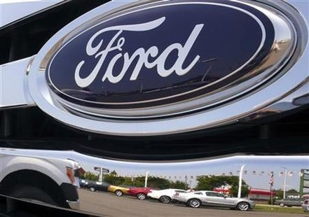 Ford Logo (Reuters)