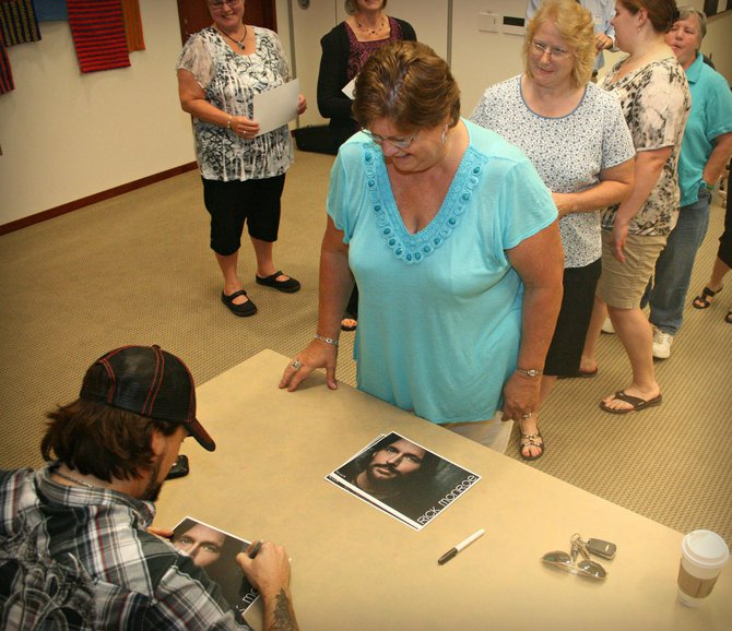 Meet and Greet with Rick Monroe