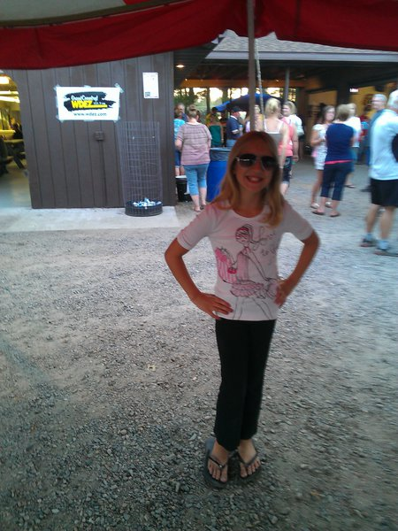 Vanessa's daughter Karlee stylin'!