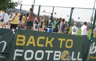 Following Mark Daniels at Packers Training Camp 23