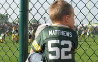 Following Mark Daniels at Packers Training Camp 18