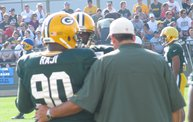 Following Mark Daniels at Packers Training Camp 17