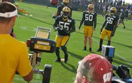 Following Mark Daniels at Packers Training Camp 16