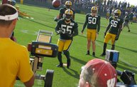 Following Mark Daniels at Packers Training Camp: Cover Image