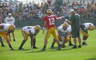 Following Mark Daniels at Packers Training Camp 13