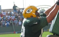 Following Mark Daniels at Packers Training Camp 12