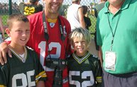Following Mark Daniels at Packers Training Camp 10