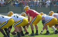 Following Mark Daniels at Packers Training Camp 4