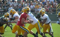 Following Mark Daniels at Packers Training Camp 3