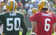 Following Mark Daniels at Packers Training Camp 2