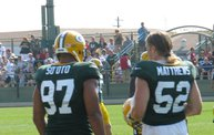 Following Mark Daniels at Packers Training Camp 11