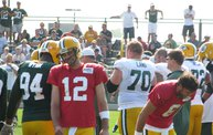 Following Mark Daniels at Packers Training Camp 7