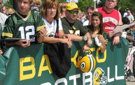 Following Mark Daniels at Packers Training Camp 1