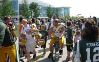 Following Mark Daniels at Packers Training Camp 29