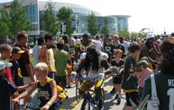 Following Mark Daniels at Packers Training Camp 28
