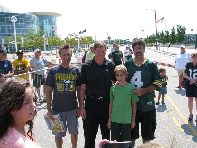Mark Murphy meets fans