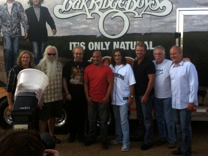 Oak Ridge Boys and Living River