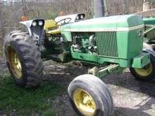 This is not the tractor that was stolen but its the same model and color