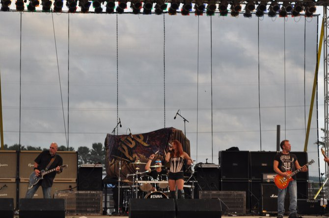 Get Bent on stage at the Wisconsin Valley Fair