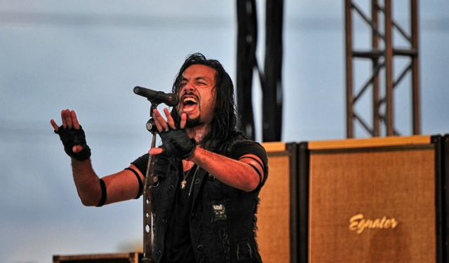 Leight Kakaty of Pop Evil