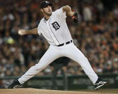 Detroit Tigers starting pitcher Justin Verlander REUTERS/Rebecca Cook