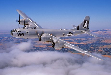 Fifi the B-29 (courtesy the Commemorative Air Force)