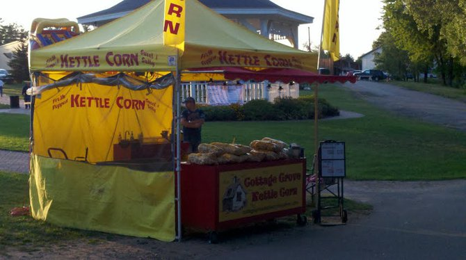 Kettle Corn at the 2012 Mosinee Log Jam.