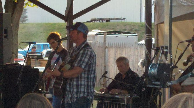 Live music at the 2012 Mosinee Log Jam.