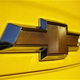 A Chevrolet logo is displayed on a vehicle at Courtesy Chevrolet dealership in Phoenix, Arizona, January 4, 2011. REUTERS/Joshua Lott