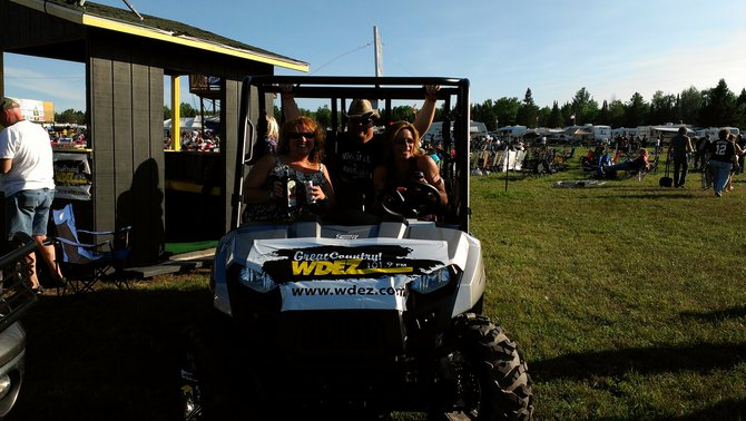 Thanks Country Sports in Wisconsin Rapids for the Awesome Ride!! Polaris Ranger Crew comes equipped with 4 seat belts thank goodness!
