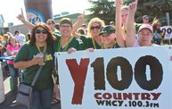 Y100 Tailgate Party at Brett Favre's Steakhouse :: Preseason vs. Browns 10