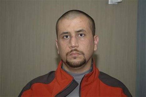 Undated handout photo shows George Zimmerman shortly after he killed Trayvon Martin, in Sanford, Florida. REUTERS/George Zimmerman Legal Cas