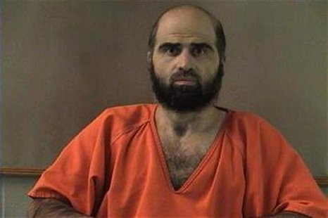 Nidal Hasan, charged with killing 13 people and wounding 31 in a November 2009 shooting spree at Fort Hood, Texas, is pictured in an undated