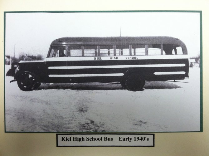 Kiel's first school bus