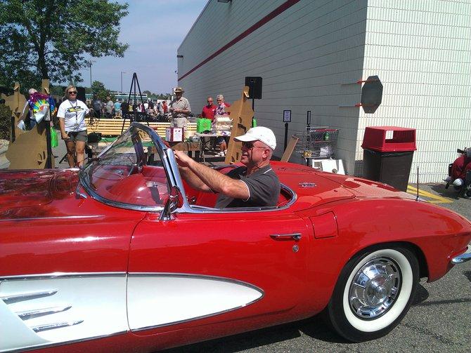 Corvette Winner Dave Glisczynski