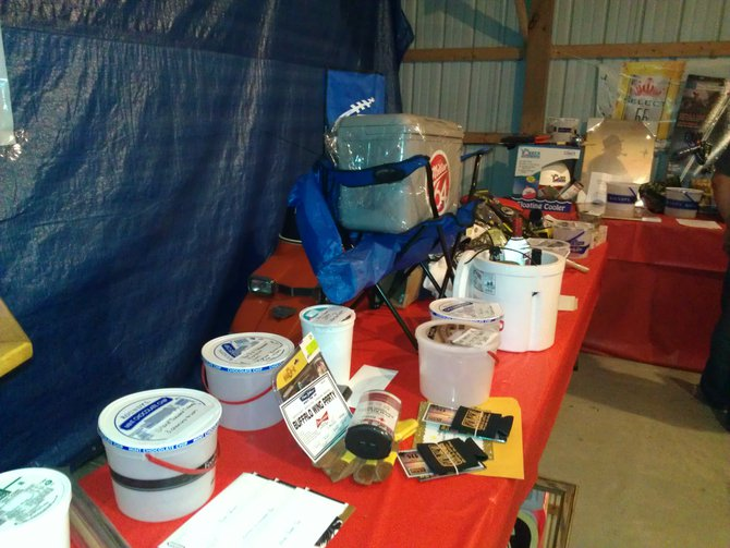 Tons of Raffle prizes at Dock of DuBay for Fishing for a Cure