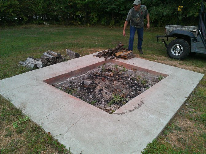 Now this is a fire pit!
