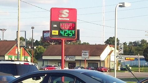 That's the highest gas prices have climbed this year.