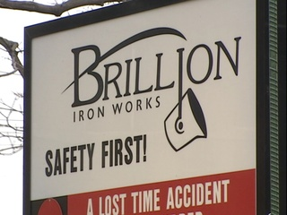 Brillion Iron Works (courtesy of FOX 11).