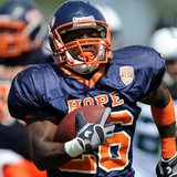 Hope College running back Shawn Jackson (photo courtesy Hope College)