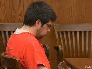 Clinton Lovelace appears in court for his arraignment July 27, 2012. (courtesy of FOX 11).