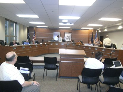 Wausau City Council in session