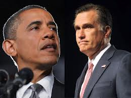 Barack Obama (left) and Mitt Romney are shown in a composite  Reuters
