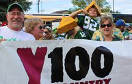 Y100 Tailgate Party at Brett Favre's Steakhouse :: Packers vs. 49ers 12